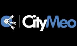 Logo CityMeo no baseline invert